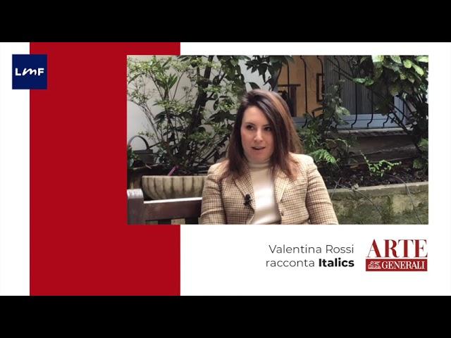 Cosa è Italics - Valentina Rossi (direttrice galleria Orsi)