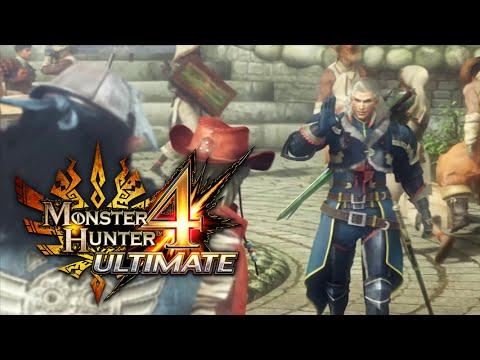 Monster Hunter 4 Ultimate - Story Trailer