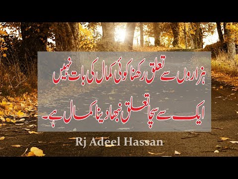 The Most Heart Touching Collection of Precious Words|Ameezing Urdu Quotations|Adeel Hassan|Urdu|