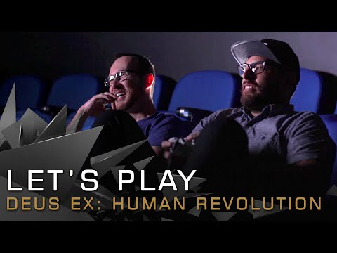 Deus Ex: Human Revolution played by its developers