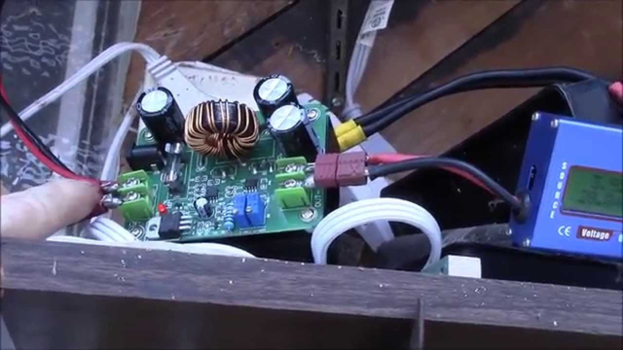Dc Circuit >> DC-DC Boost Converter, Part 4 - Virtual Solar Panel Setup - YouTube
