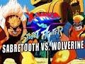 SABRETOOTH VS. WOLVERINE: X-Men Vs. Street Fighter - Online Matches