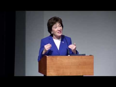 Margaret Chase Smith Policy Center lecture by U.S. Senator Susan Collins