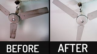 How to Clean Ceiling Fan | Remove Dirt From Ceiling fan