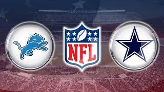 Dallas Cowboys Detroit Lions Instant Reaction - Putting the NFL on notice