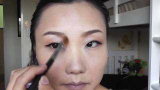 单眼皮古典眼线妆 Classic Eyeline Makeup Look for Monolids Thumbnail