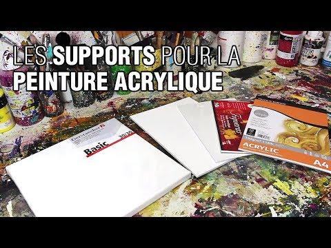 Peinture Acrylique Sur Quoi Peindre Youtube