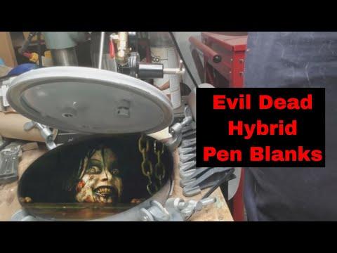 Evil Dead cast hybrid wood and resin blanks