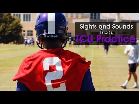 TCU practice highlights