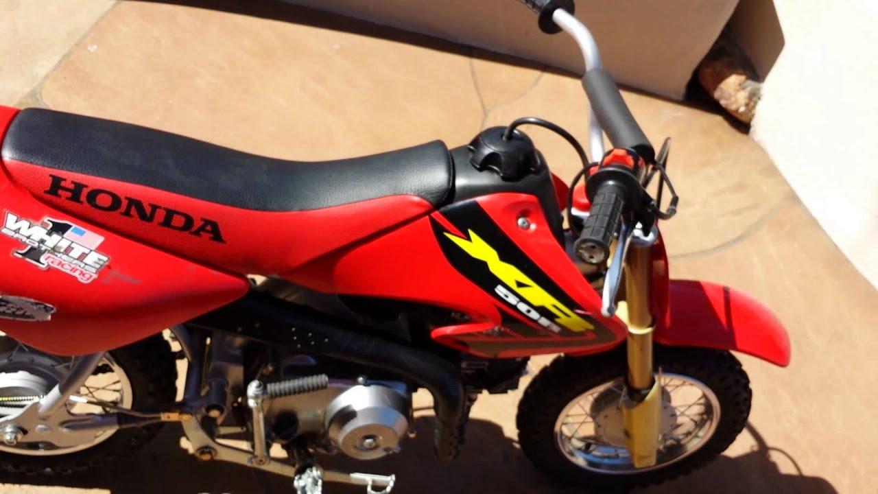 2009 50cc Honda Dirt Bike