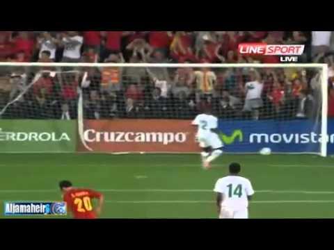 Spain 5-0 Saudi Arabia (referee Anar Salmanov (AZE))
