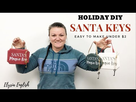 Holiday Magic Keys | October WINNER | Holiday DIY Craft | Christmas Wood Decor | Handmade Gifts