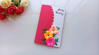 Beautiful Handmade Birthday card idea / DIY Greeting Pop up Cards for Birthday.