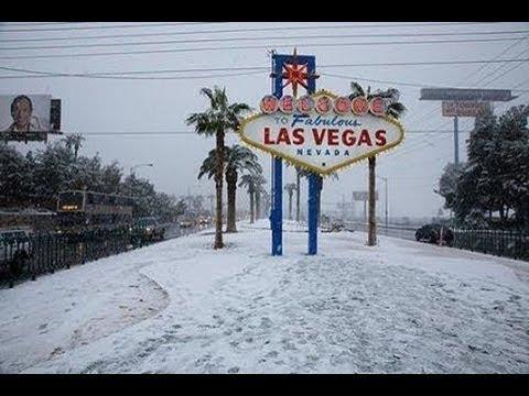 LAS VEGAS SNOW AMAZING WOW! 4K STUNNING #MyHeaven, Holy Record 8 min Las Vegas SNOW February 2019