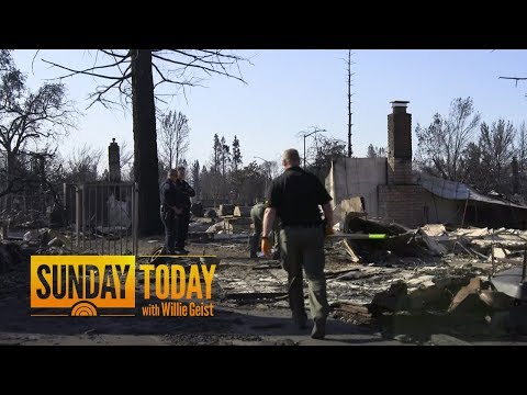 California Wildfires Burn 200,000 Acres; Death Toll Climbs To 40 | Sunday TODAY