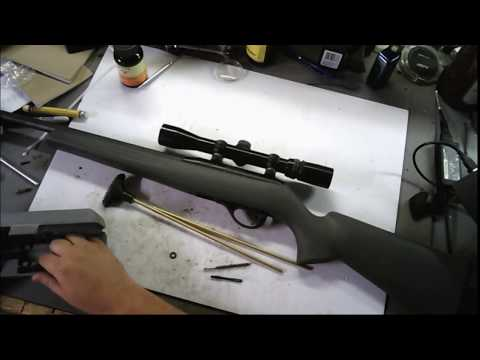 Remington 597 22lr (Cleaning , Review , and New Extractor)