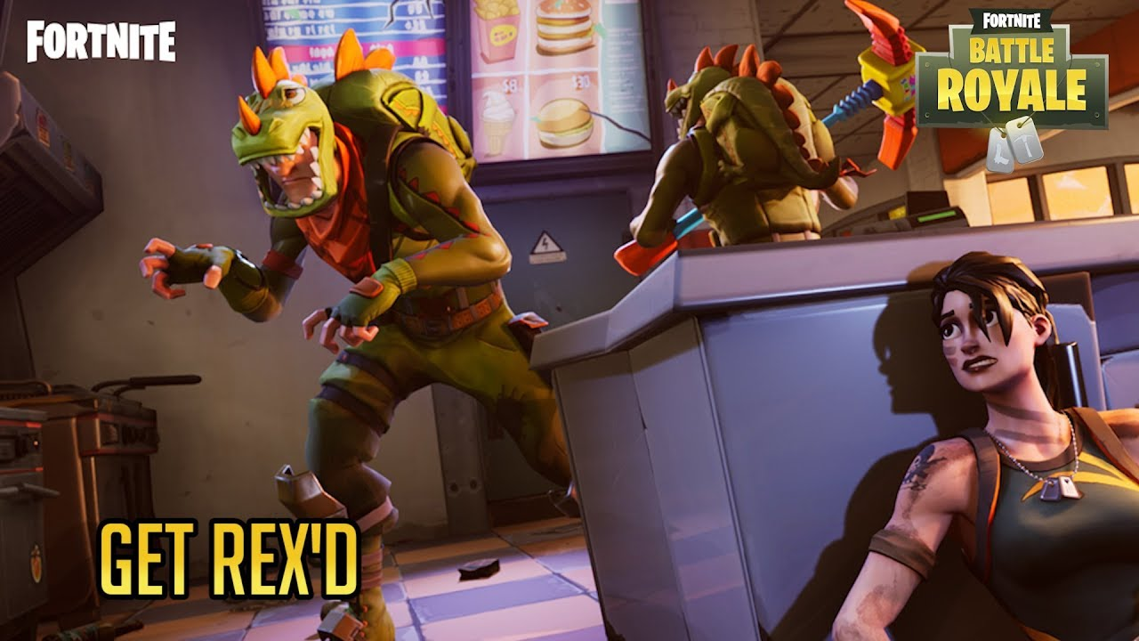 A Win With Rex Fortnite Battle Royale
