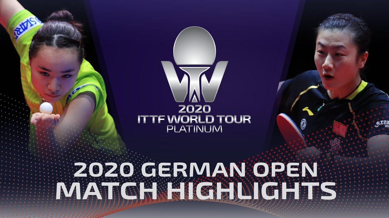Download Mima Ito vs Ding Ning | 2020 ITTF German Open Highlights (1/4)