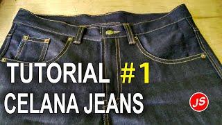 Tutorial Pola Celana Jeans # 1