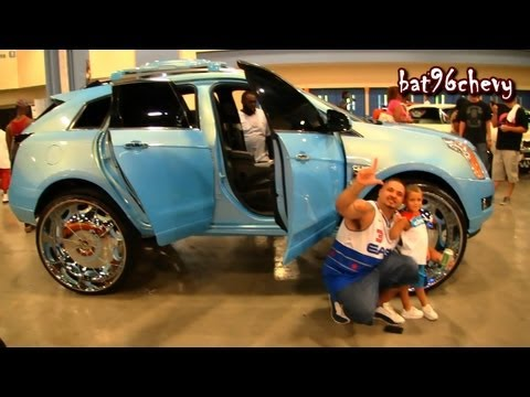 OUTRAGEOUS 2012 Cadillac SRX Truck on 32