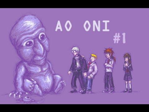 Barney The Purple Demon Let S Cry Ao Oni 1 Youtube