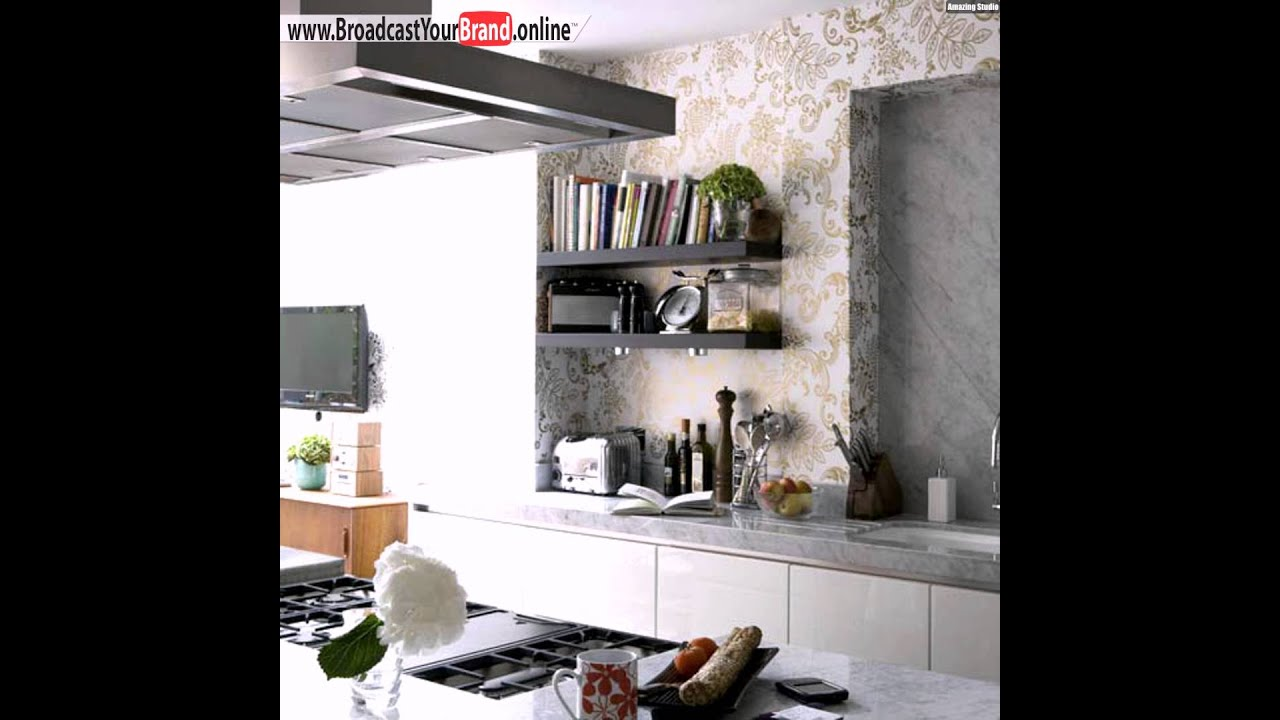 tapeten k che elegant gold marmor arbeitsplatte youtube. Black Bedroom Furniture Sets. Home Design Ideas