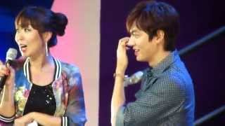 [HD] 140321 Lee Minho in Manila - Tagalog Time: Minho learns Tagalog and teaches fans Korean