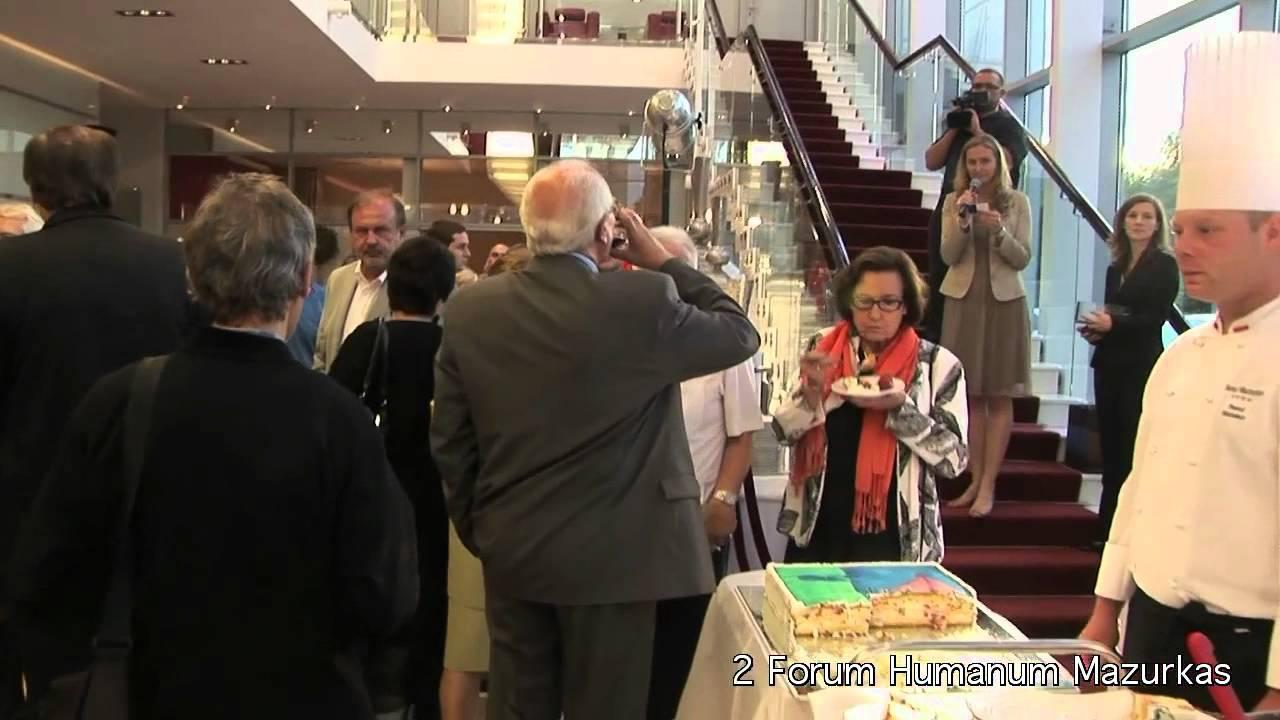 II Forum Humanum Mazurkas - losowanie wizytówek