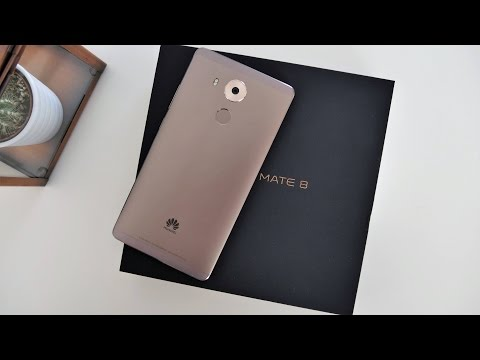 Unboxing: Huawei Mate 8 Premium, Mocha Brown | deutsch 🎁 techloupe