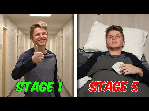The 7 Stages of Getting Sick