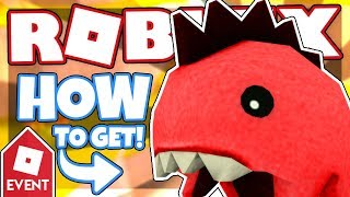 [PROMO CODE] How to get the PLAYFUL RED DINO | Roblox