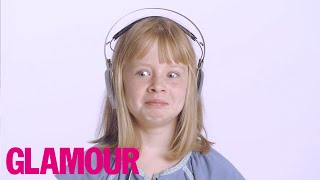 8 Year Old Tries 54 Things For The First Time | Lifestyle | Glamour