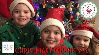 CHRISTMAS MORNING 2018 🎄 | Opening Presents! 🎁 | KIDS LIFE 365 | 12.25.18