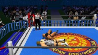 Shin Nippon Pro Wrestling Toukon Retsuden (PLAYSTATION)
