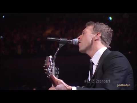 Viva La Vida Coldplay Chris Martin + Guitar Acoustic Live HD
