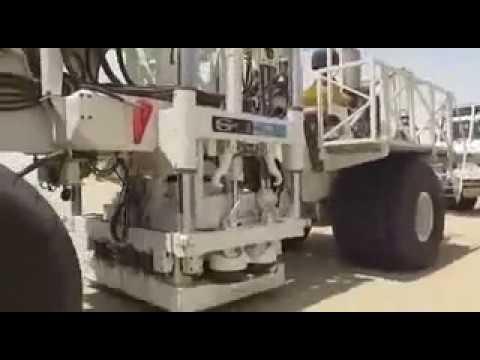 DX-80 Land Seismic Vibrator Truck