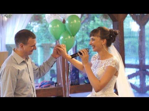 Невеста всех довела до слез на свадьбе - Лучшие приколы. Самое прикольное смешное видео!