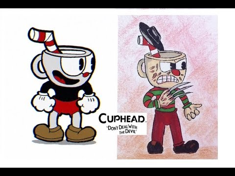 Cuphead Characters As Horror Movie Villains Youtube