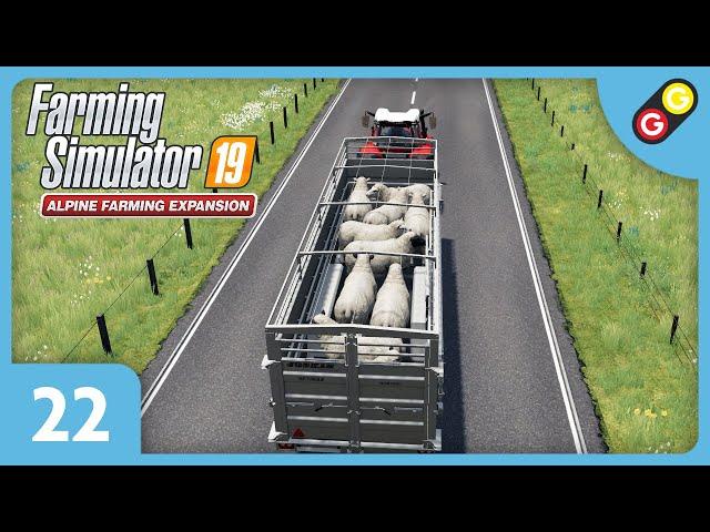 Farming Simulator 19 - Extension Alpine #22 On négocie nos moutons ! [FR]