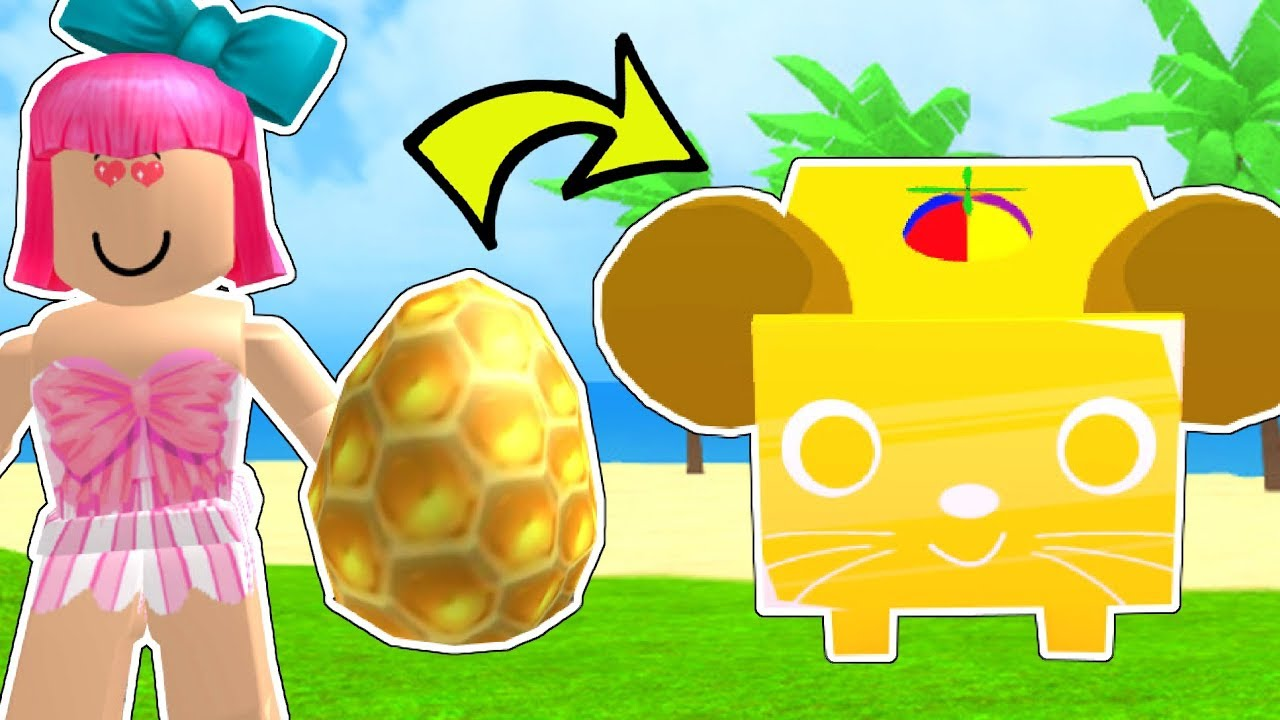 Roblox: INSANELY RARE GOLDEN PET CHALLENGE!!! - PET SIMULATOR [2]