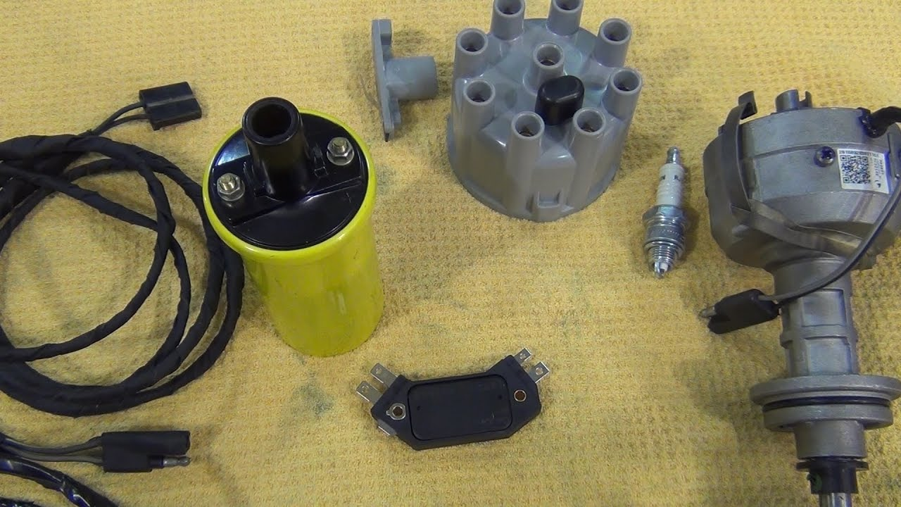mopar points ignition conversion - get rid of your ballast resistor
