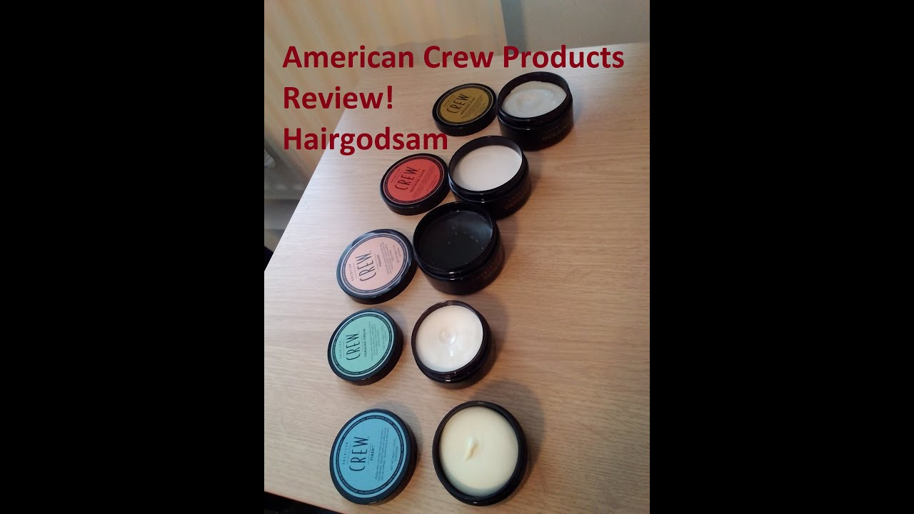 Man Cave Hair Cream Review : American crew products review youtube
