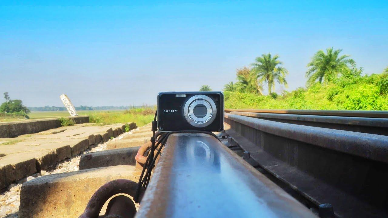Sony Camera vs Train |||Camera under the train|| ট্রেনের নিচে ক্যামেরা অতঃপর