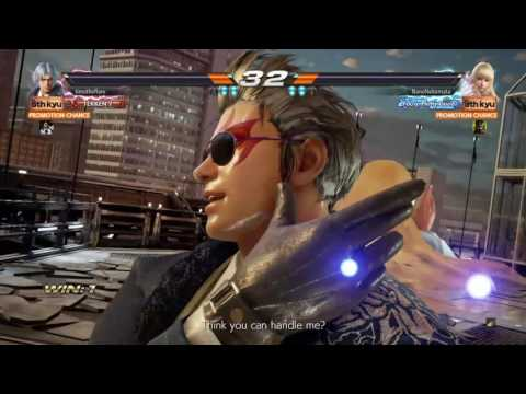 TEKKEN 7| LEE VS LILI [killed them the SILVER CYCLONE after a rematch on a Ranking Fight]