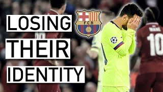 "Subscribe here: https://goo.gl/g69tds barcelona's ""identity crisis"": failed transfers , an aging team & the decline of la masia what's wrong with fc barcelon..."