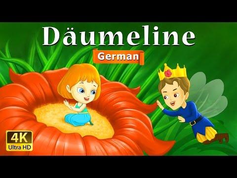 Däumelinchen - Gute Nacht Geschichte - Märchen - 4K UHD - Deutsche Märchen