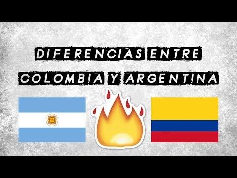 Diferencias Entre Colombia Y Argentina | JohanF