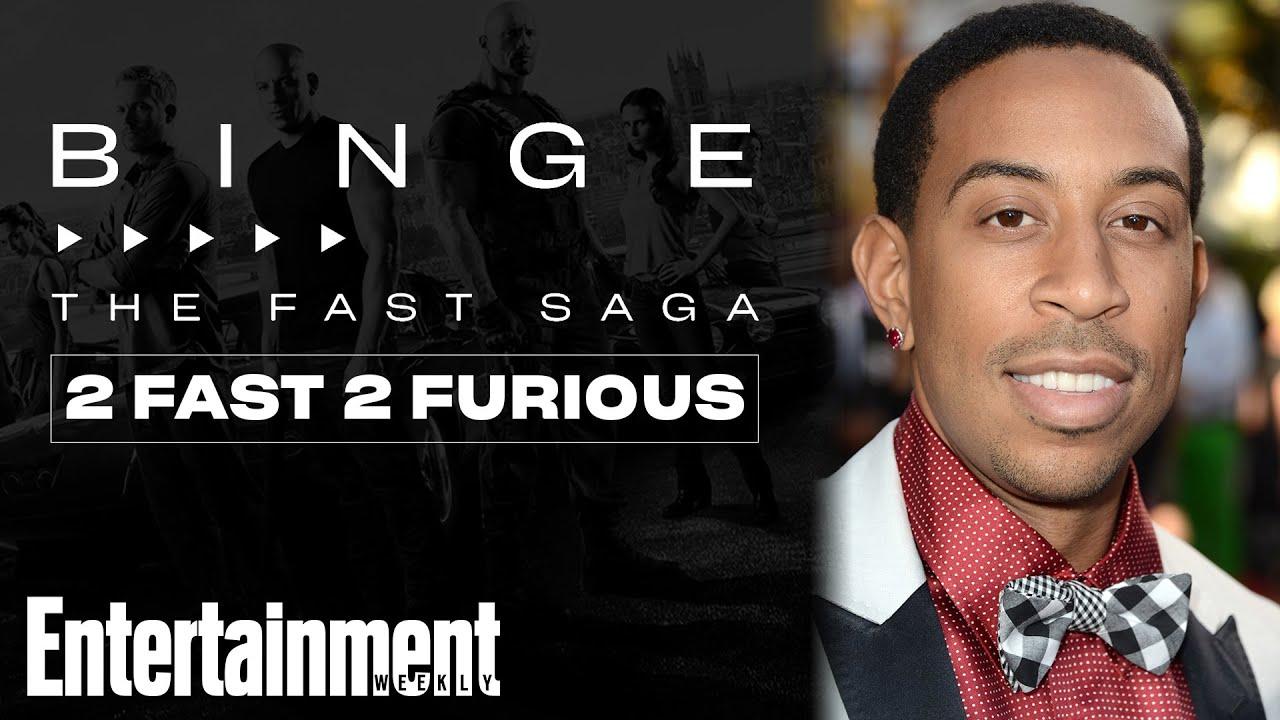 Ludacris on 'The Fast and the Furious': The Fast Saga   EW's Binge