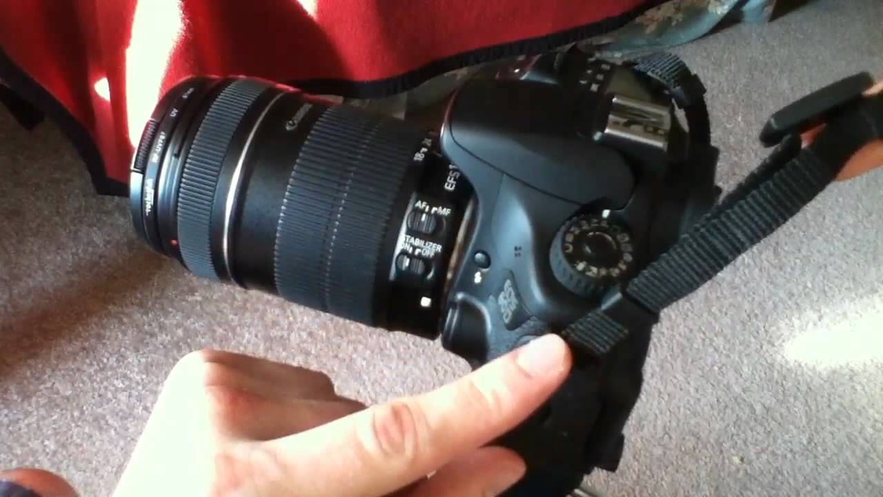 Getting Started: How to Attach a Strap to Your New Canon DSLR ...