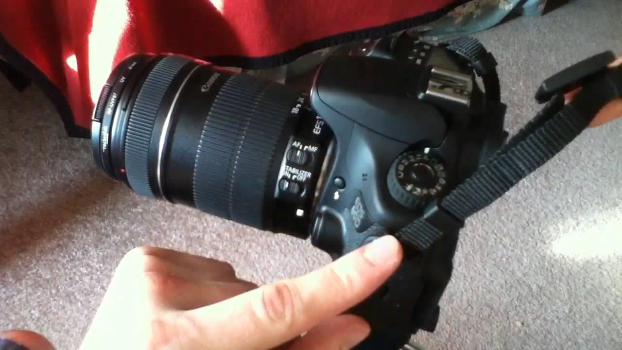 Canon EOS camera strap